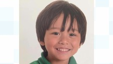 Julian, 7, is missing following the Barcelona attack