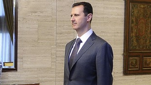 Syria's President Bashar al-Assad in July 2012