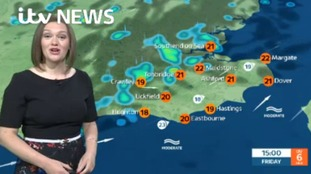Weather forecast for east from Aisling