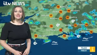 Weather forecast from west of region from Aisling