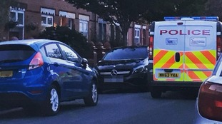 The Mercedes car had been driven to Fallowfield after being dropped off at the Mercedes car dealership in Bolton.