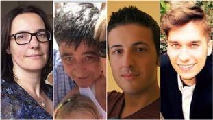 The victims of the Barcelona terror attack