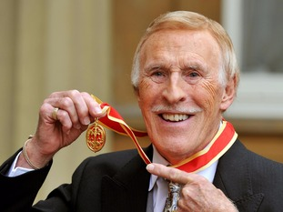 Sir Bruce Forsyth was knighted in 2011