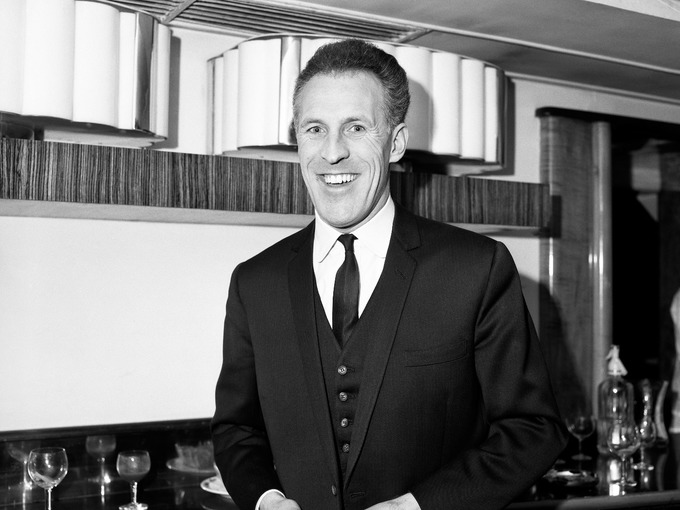 Sir Bruce Forsyth in 1965