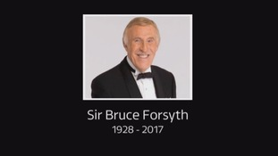 Legendary entertainer Sir Bruce Forsyth has died