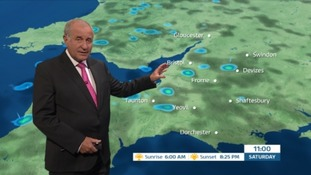Weather: still breezy with showers