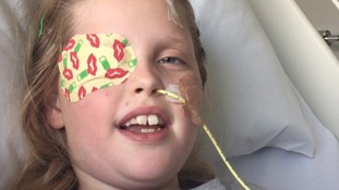 Lucy Moroney's family have raised valuable funds to take her for treatment in Mexico.