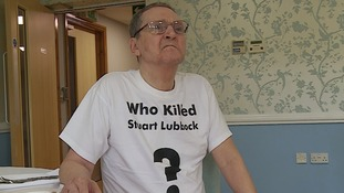 Terry Lubbock, the father of a man found dead in Michael Barrymore's swimming pool.