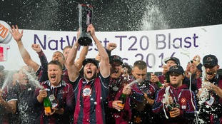 Northants won last year's T20 Blast.
