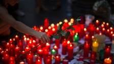 In pictures: Spain pays tribute to terror victims