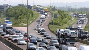 Traffic jams are costing the country £300 billion a year.
