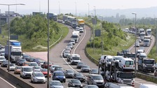 Drivers spend 'five days a year' in traffic jams