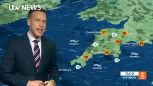 Today's weather in the West Country with Luke Castiglione