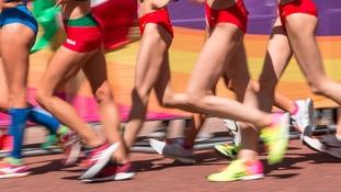 Olympians and Paralympians join runs across the region