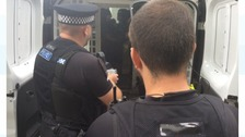 Essex Police have been carrying out patrols in Chelmsford ahead of this years V Festival.