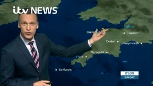 The West Country's latest weather with Luke Castiglione.