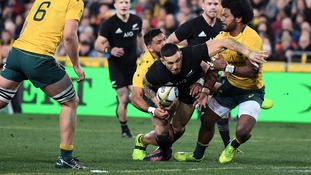 New Zealand thrill in opening Rugby Championship clash against Australia