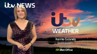 Saturday evening weather with Kerrie