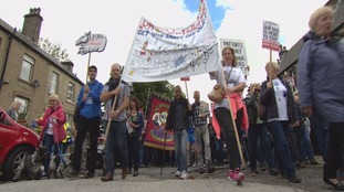 HRI campaigners stage 15 mile march to raise money and awareness