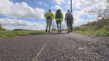 1000 mile walk increases awareness of stammering