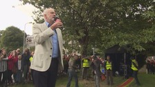 'Let's get ready to do it all again' is the message from Labour leader Jeremy Corbyn