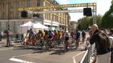 UK's best cyclists compete at Bristol Grand Prix