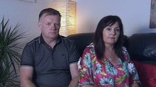 Couple relieved to be home after Barcelona terror attack