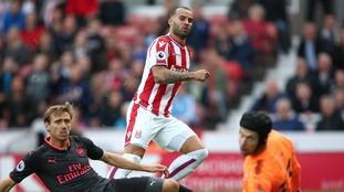 Stoke 1-0 Arsenal: Jese scores on his debut as Stoke upset Arsenal