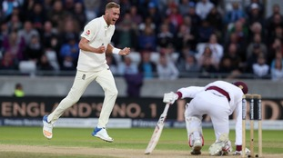 Broad overtakes Botham as England hammer West Indies