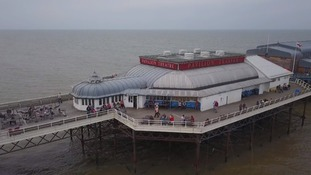 Cromer Pier had to close its bar on the advice of police