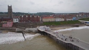 Travellers leave seaside town after weekend of minor disturbances