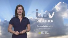 Weather: Sunny Sunday with spots of rain in the west