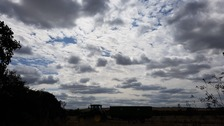 Clouds at Great Chesterford in Essex