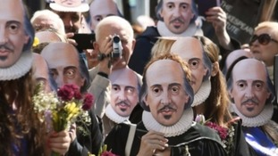 Shakespeare400 parade celebrations underway last year