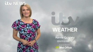 Sunday evening weather with Kerrie