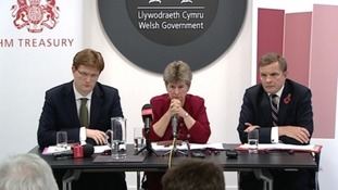 Danny Alexander, Jane Hutt and David Jones