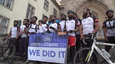 The Riders of Shaam have completed a gruelling 410-mile ride.