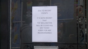 Some local pubs took the decision to stay shut