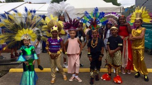 Leeds Carnival 50: celebrations begin with Prince and Princess show