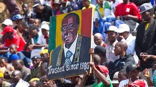 Robert Mugabe has led Zimbabwe since 1980.