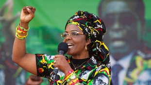Grace Mugabe could potentially replace her husband, many believe.