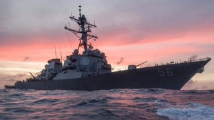 Sailors missing after another US Navy ship collision