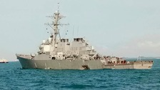 Ten sailors missing after another US Navy ship collision