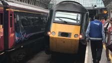 Derailed train causes delays for South West commuters