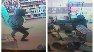 Police release CCTV images of Tesco robbery