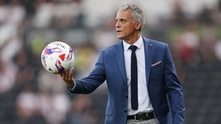 """Every game we go into we've got a plan."" - Keith Curle"
