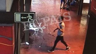 Images show 'Barcelona van driver' seconds after attack