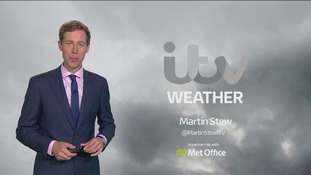Monday morning's weather for the east of the region