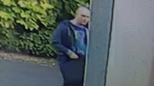 CCTV image that police say is in connection with the incident on St Annes Road.
