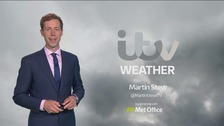 Martin has the latest weather